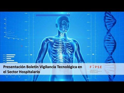 Presentación del Boletín de Vigilancia Tecnológica en el Sector Hospitalario