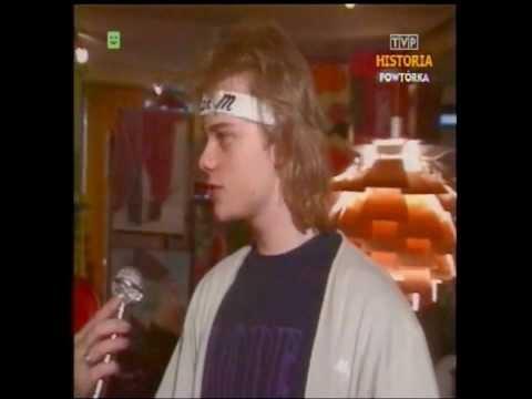 PRL 1987 Gołe baby na kalendarz. Alan Michael. Prońko i Namysłowski