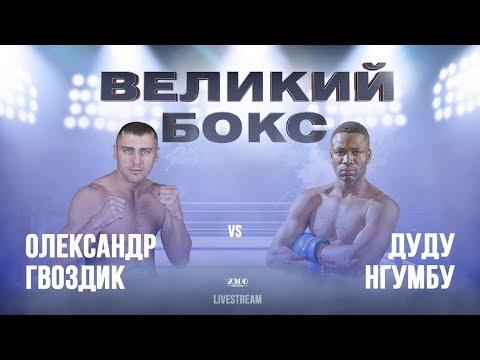 Олександр Гвоздик захистив титул чемпіона світу WBC у напівважкій вазі у поєдинку проти Дуду Нгумбу. (відео бою)