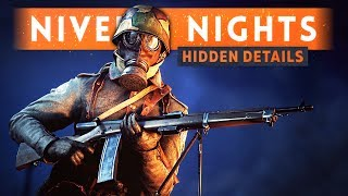 Some hidden details and a map overview of Nivelle Nights, the new night map that has just arrived for Battlefield 1!