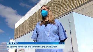 Sorocaba: hospital de campanha tem 22 leitos à disposição