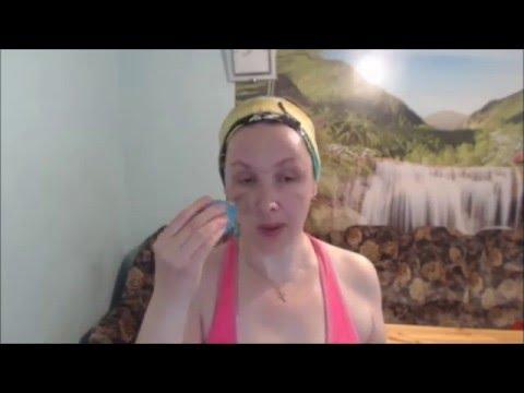 Вакуумный массаж лица банками по кунжутному маслу (видео)