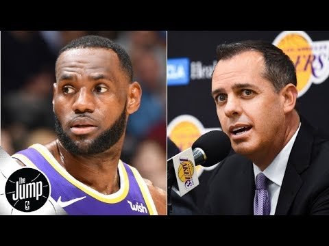 Video: Lakers coach denies LeBron James has been named starting point guard | The Jump
