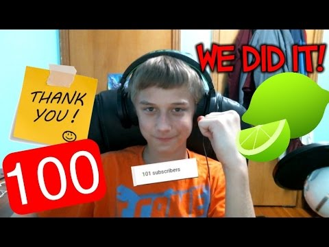 Try not to laugh LIME JUICE  CHALLENGE: 100 subscribers!!! (видео)