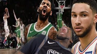 OMG SIMMONS FINALLY HIT A LONG JUMPER! CELTICS vs SIXERS HIGHLIGHTS REACTION