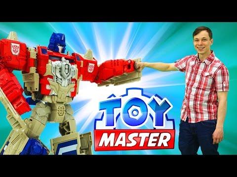 Игры Трансформеры для детей: Toy Master против десептиконов Отключаем энергощит Фабрика Героев.