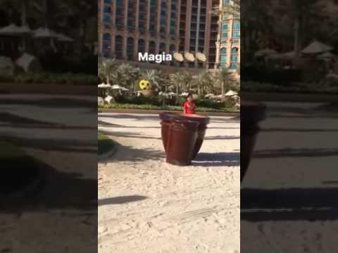 Il canestro di Vidal a Dubai, magia o botta di c.?