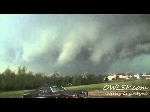 Lawton, OK Tornado Timelapse- April 17, 2013_Best travel videos, no flights ticket required