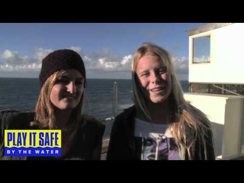 Rebecca Woods & Paige Hareb - Play It Safe By The Water