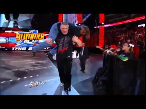 Video Brock Lesnar vs Roman Reigns Wrestlemania 31 Custom Promo download in MP3, 3GP, MP4, WEBM, AVI, FLV January 2017