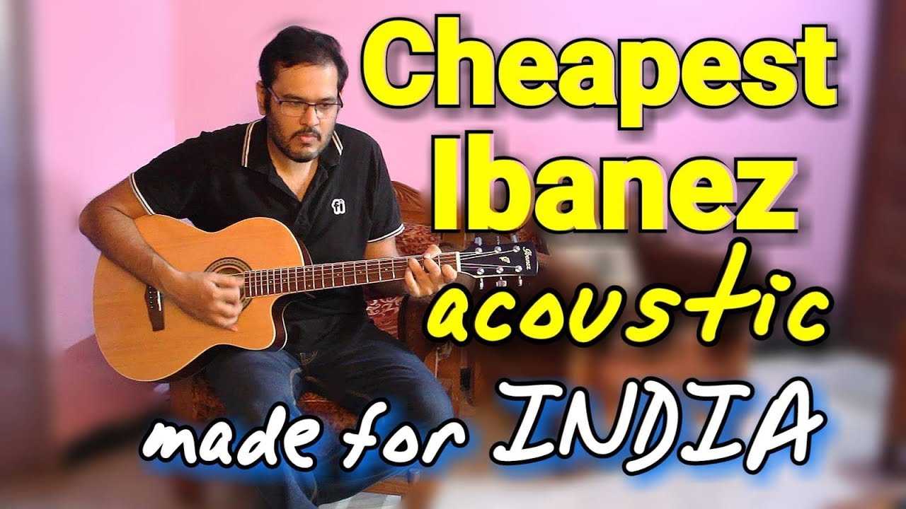 "Made For INDIA – Cheapest ""Branded"" Acoustic Guitar 
