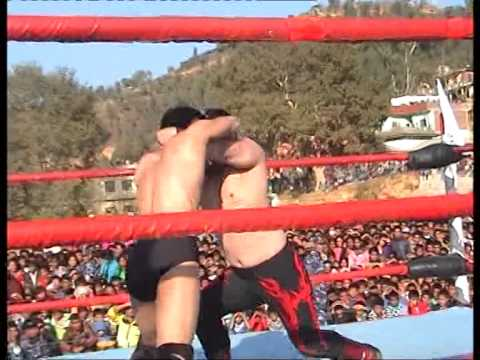 wrestling in Nepal most imaging play in Hollywood wrestler vs Nepali   wrestler.
