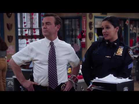 The Valentines Heist Begins | Brooklyn 99 Season 7 Episode 11 | Valloweaster