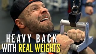 Subscribe to the newsletter here: http://tigerfit.shop/signupDoug Miller from Core Nutritionals and MTS Nutrition CEO Marc Lobliner destroy their backs with real weights. Do not miss this intense back-building throw down.