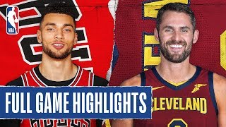 BULLS at CAVALIERS | FULL GAME HIGHLIGHTS | January 25, 2020 by NBA