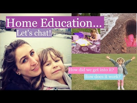 What's Home Education like? Our experience. (видео)
