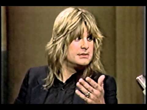 Ozzy Osbourne on Late Night March 25, 1982