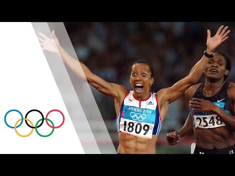The first of the double - Kelly Holmes - Women's 800m - Athens 2004 Olympic Games