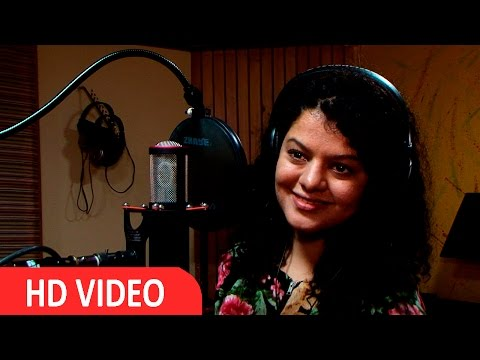 Palak Muchhal For Song Recording Of Film 'Red Signal' UNCUT