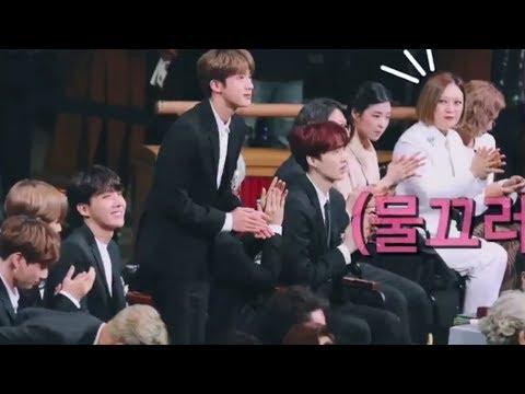 when celebrities meet BTS