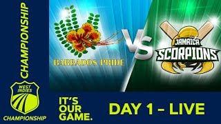 Video *LIVE West Indies Championship* - Day 1 | Barbados v Jamaica | Thursday 13 December 2018 MP3, 3GP, MP4, WEBM, AVI, FLV Desember 2018