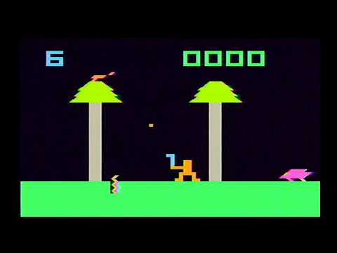 Epoch Cassette Vision - #1 Yosaku - 1981 (GamePlay)