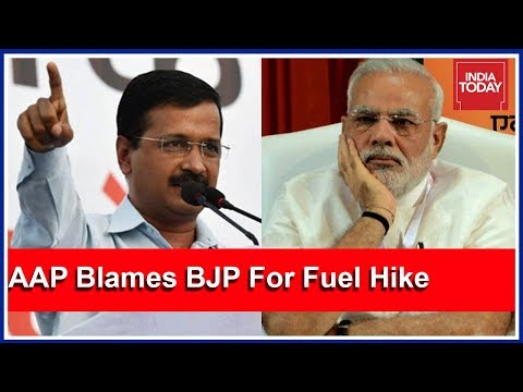 AAP Targets BJP Over Fuel Hikes, Says Hikes Funding BJP's 2019 Election Campaign