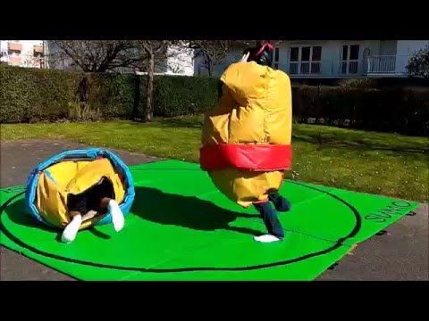 Sumo gonflable/ mortal Sumo Kombat avril 2016