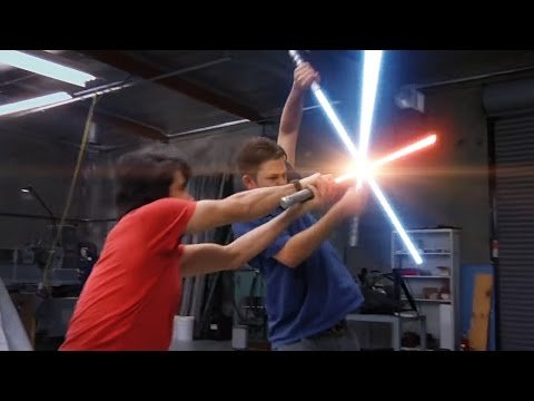 RVB2 Lightsaber Fight