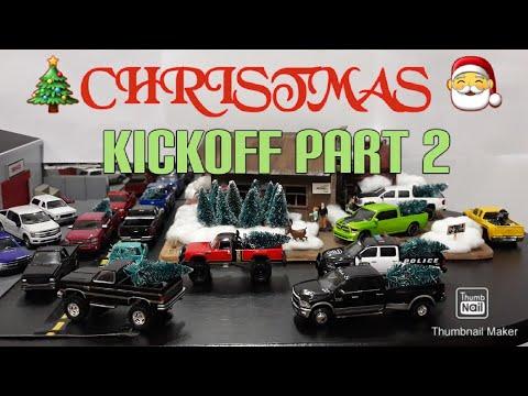 Christmas Kickoff Part 2. Trucks from 1980-2018 including Greenlight, Jada Autoworld, Hot Wheels, JL