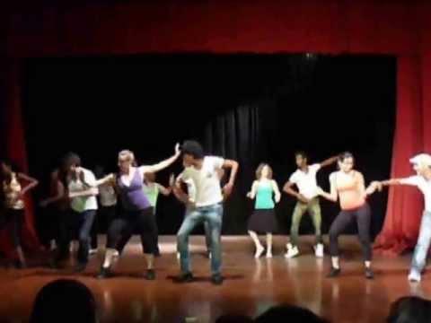 video:Performance in Santiago de Cuba July 2013