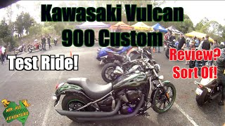 8. I Ride A Cruiser! Kawasaki Vulcan 900 Custom Test Ride