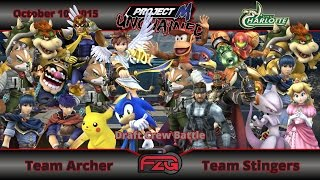 Project M:Unchained Draft Crew Battle, Team Stingers vs. Team Archer!