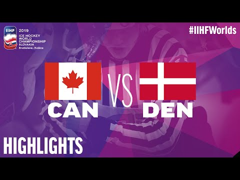 Canada Vs. Denmark - Game Highlights