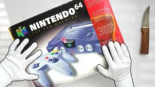 N64 UNBOXING! Nintendo 64 Console, Super Mario 64, Ocarina of Time, Goldeneye 64