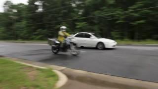 10. ABS Test  -  BMW F650GS vs. Honda Accord