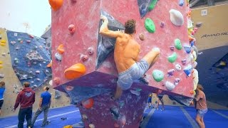 We Are Bouldering With Big Boy Hannes Today! (Part 1) by Eric Karlsson Bouldering