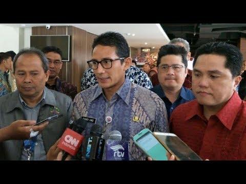 Sandiaga Uno Resmi Mundur dari Ketua Tim Pemenangan Partai Gerindra