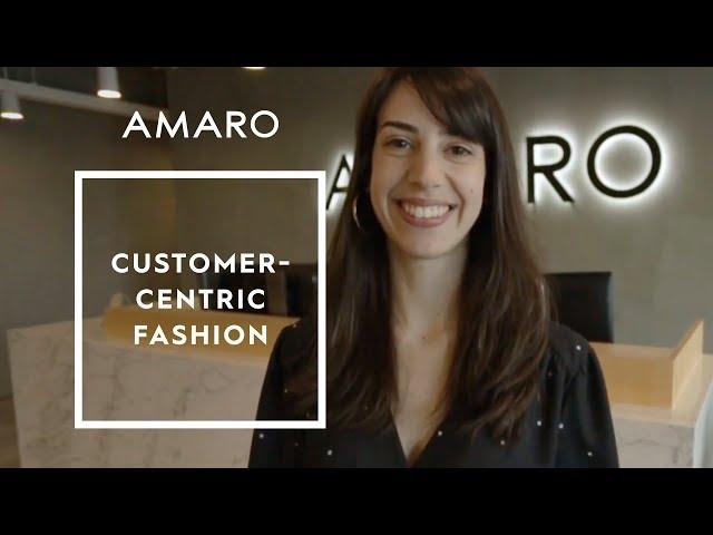 AMARO apresenta: Customer-Centric Fashion - Amaro