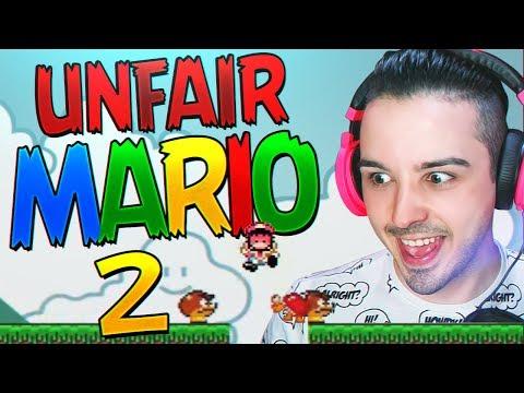 MARIO ME ESTA VOLVIENDO LOCO  Unfair Mario 2