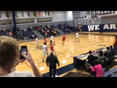 8th Grader Makes Impossible Buzzer-Time Shot to Win the Championship