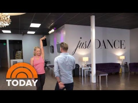 Watch Megyn Kelly And Derek Hough Fulfill A Mom's Dream Of Dancing | TODAY