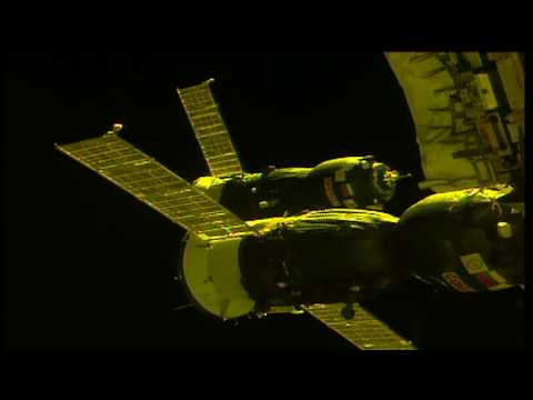 Russian Cargo Craft Completes Journey to International Space Station © NASA