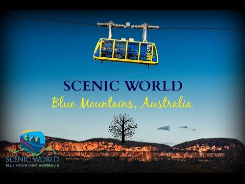 Scenic World, Blue Mountains - Katoomba Australia - 2017 (видео)