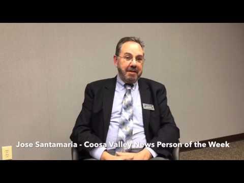 Coosa Valley News Person of the Week - Jose Santamaria