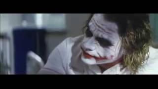The Dark Knight  Hospital Scene TwoFace And Joker