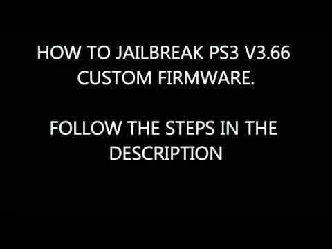 Jailbreak PS3 3.66 PS3UPDAT.PUP workin