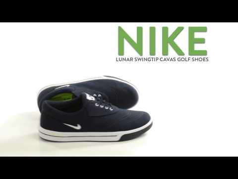 Nike Lunar Swingtip Canvas Golf Shoes (For Men)