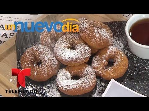 Notícias dos famosos - Recetas de cocina: Cómo hacer Rosquillas Chilenas  Un Nuevo Día  Telemundo