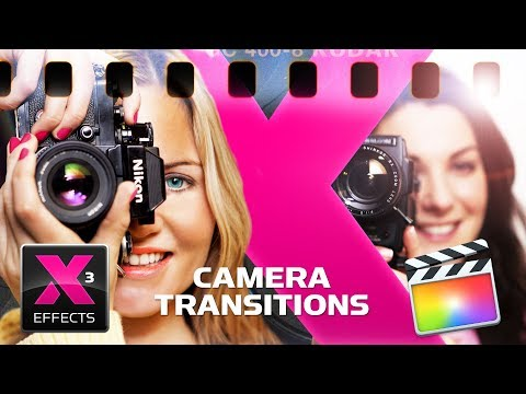 XEffects Camera Transitions for FCPX Final Cut Pro X